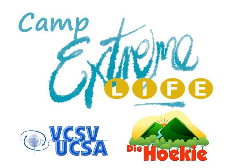 Camp Extreme Life @ Die Hoekie / UCSA - Situated 25km outside Pretoria North. Specialising in Adventure Based Experiential Learning. We facilitate a variety of recreation, education, development or therapy programmes. We accommodate groups from 50 to 200. 